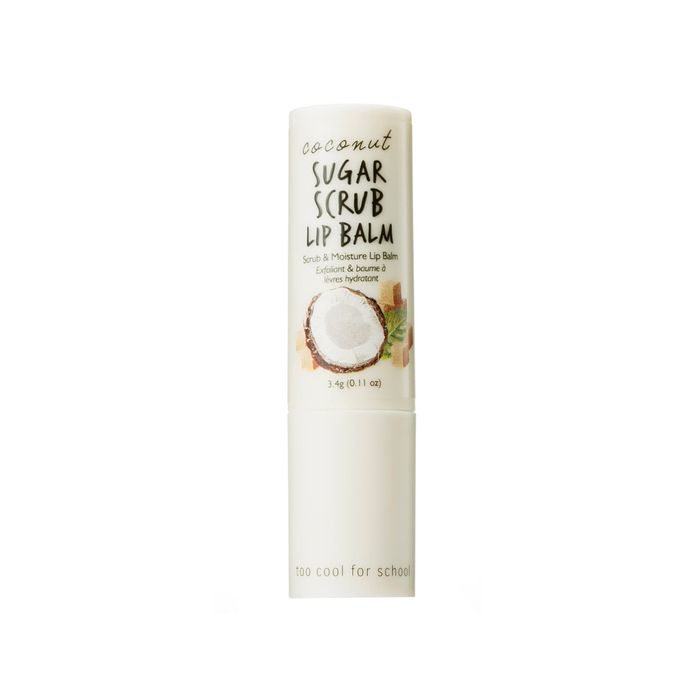 Too Cool for School Coconut Sugar Scrub Lip Balm