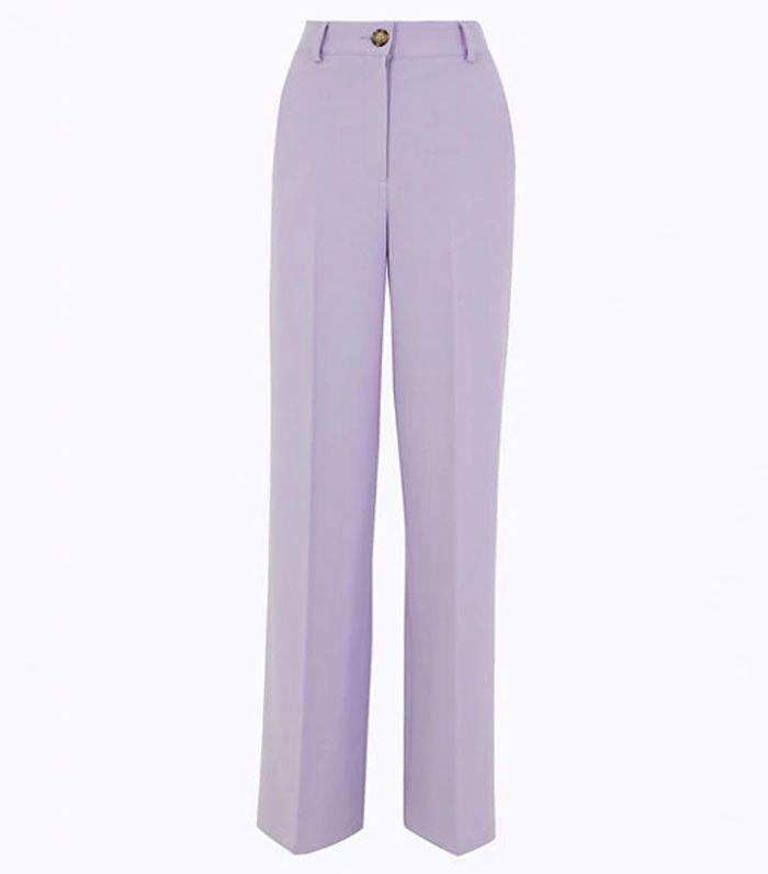 M&S Collection Wide Leg Trousers