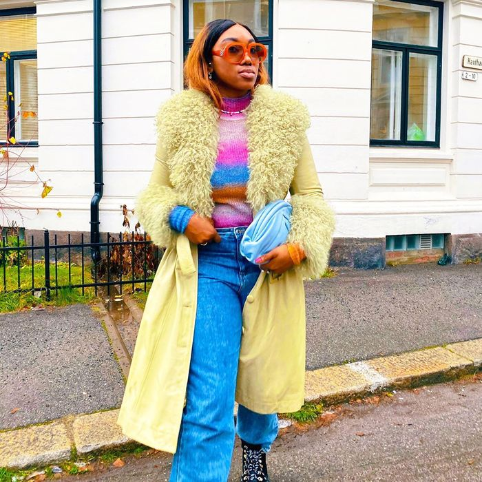 The best colorful winter outfits