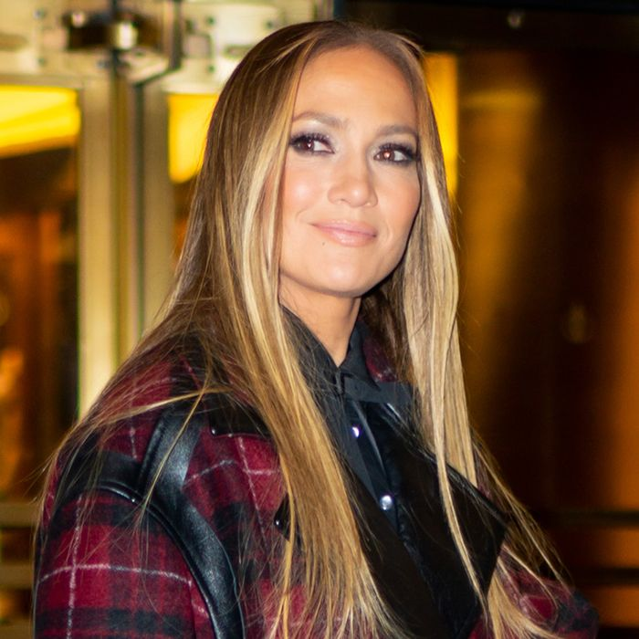 J.Lo Just Ditched Skinny Jeans for Wide-Leg Pants on Date Night