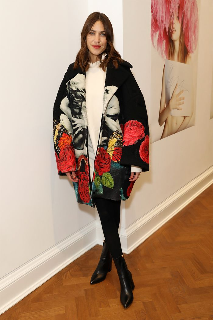 Alexa Chung: Winter Outfit Inspiration