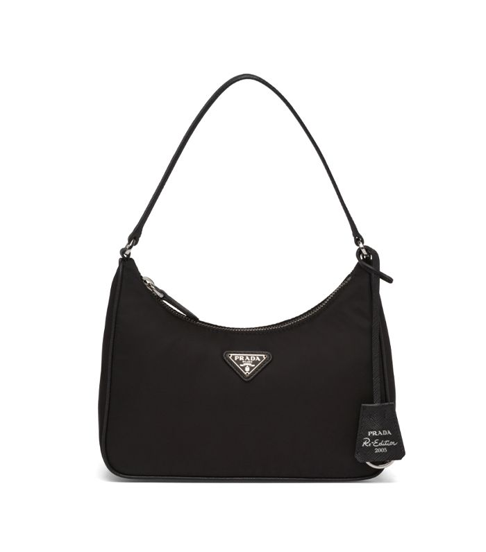 Prada Re-Edition 2005 Nylon and Saffiano Leather Mini-Bag