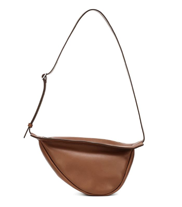 The Row Slouchy Banana Small Crossbody Bag