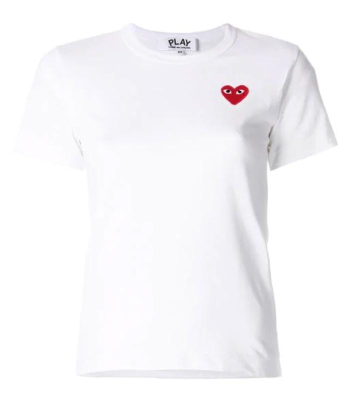 Commes des Garçon Play Heart Logo T-Shirt