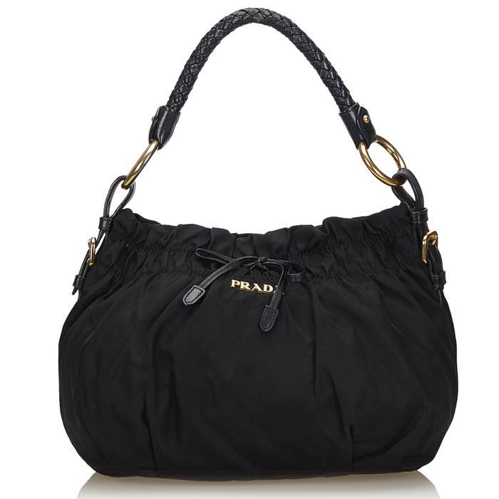 Prada Pre-Loved Nylon Top Handle Bag