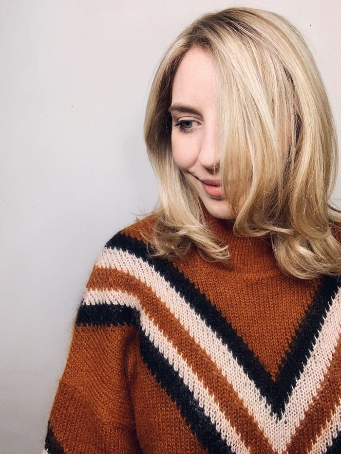 Blonde Bob Hairstyles to inspire: @maxineeggenberger