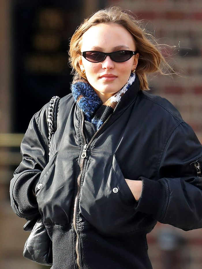 website for discount first rate factory authentic Lily-Rose Depp Wore the New Non–Skinny Jean Trend to Try | Who ...