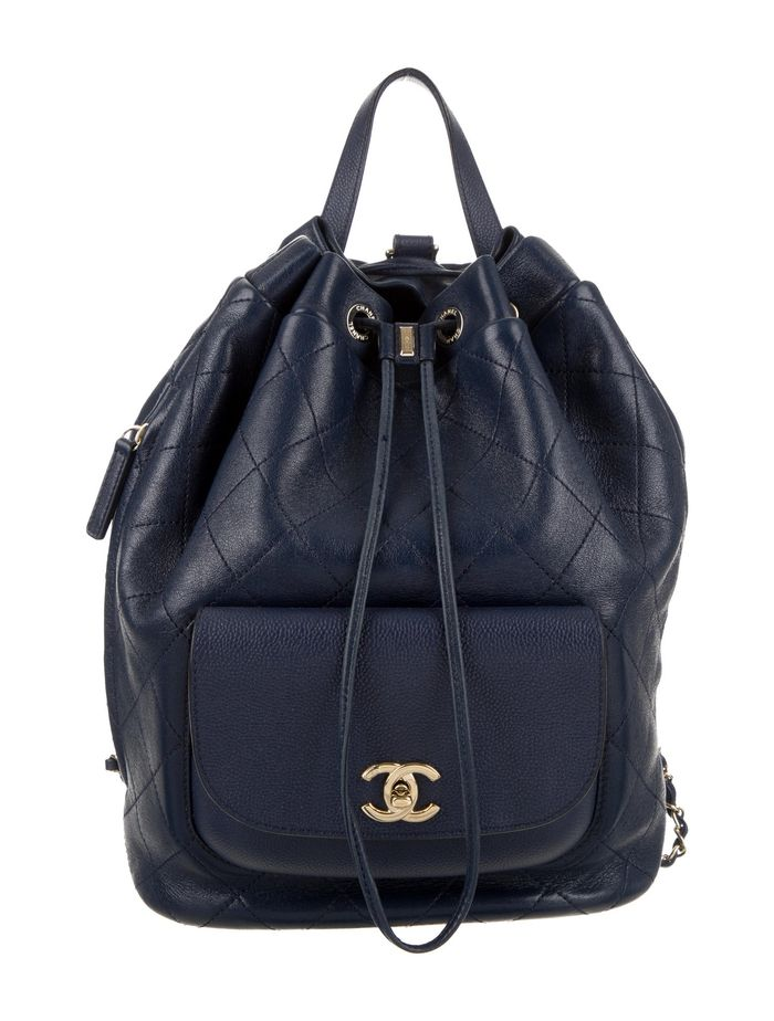 Chanel 2017 Daily Round Backpack