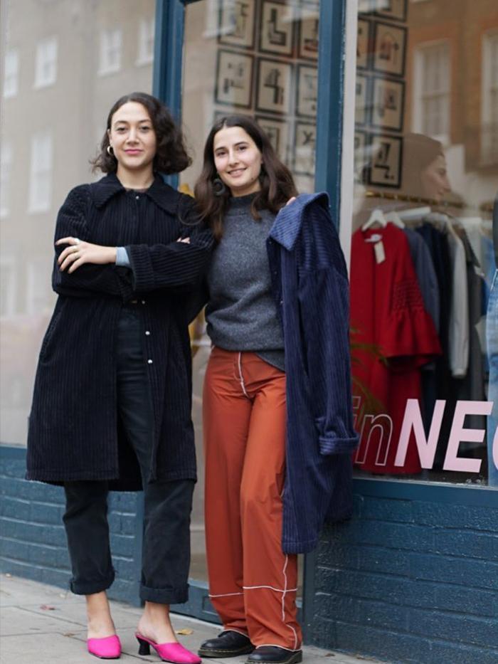 Small Sustainable Fashion Brands: Neoss London, inNEOSS