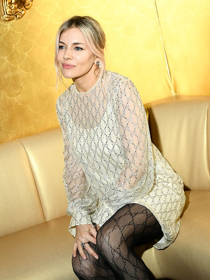 The £85 Item Sienna Miller Wears With All Her Mini Dresses