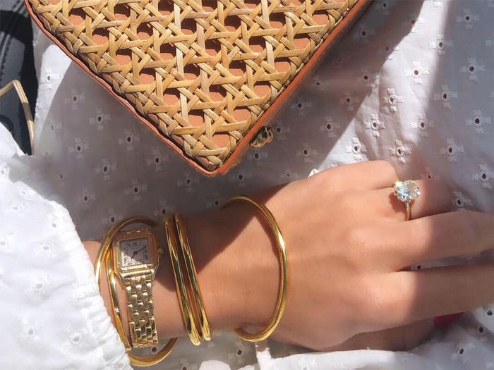 Bettina Looney engagement ring