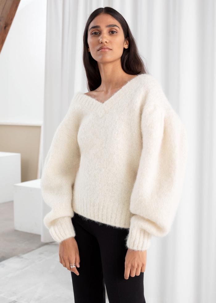 AMAZING Vintage Ochre Oversized Cropped Knit Sweater  S  90s hipster sweater knit sweater super comfy yellow slouchy boyfriend sweater