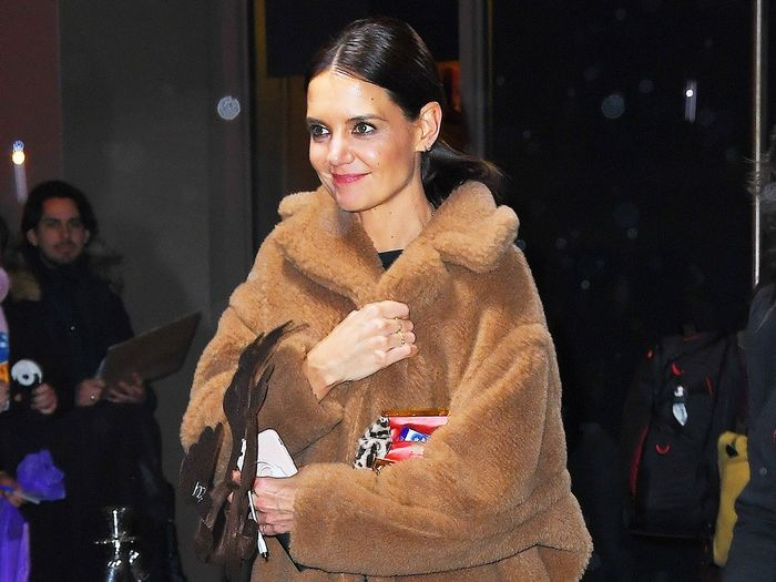 Katie Holmes Wore the Controversial Trend That Will Rule in 2020