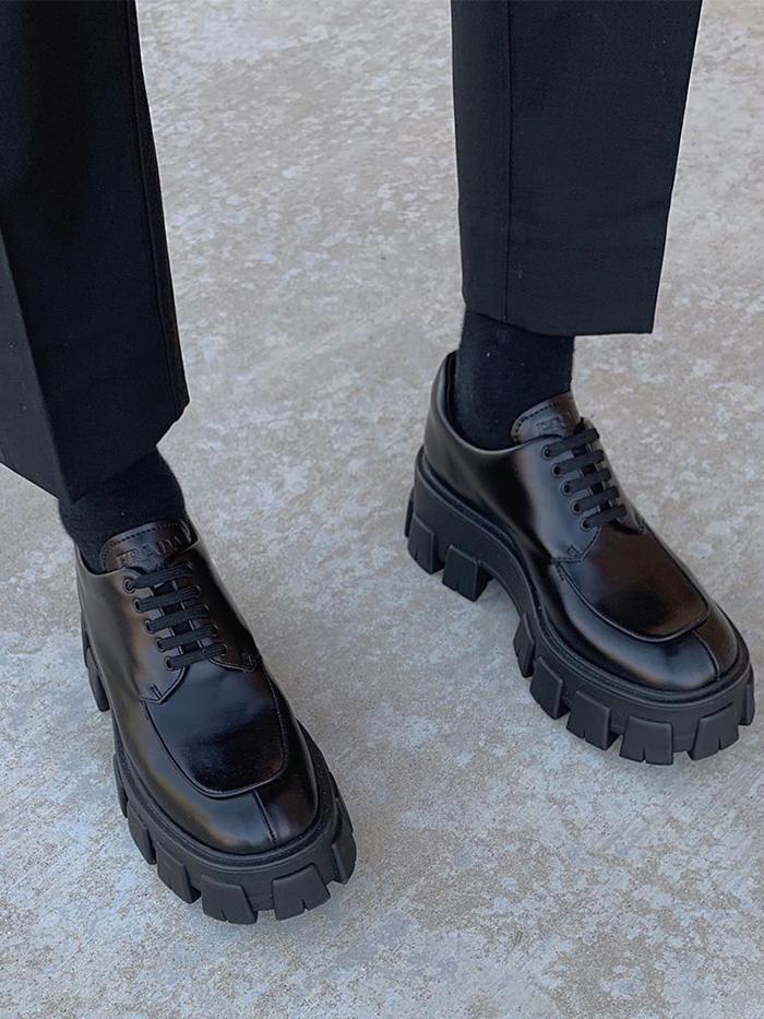 Filis Pina: Prada Monolith Shoes