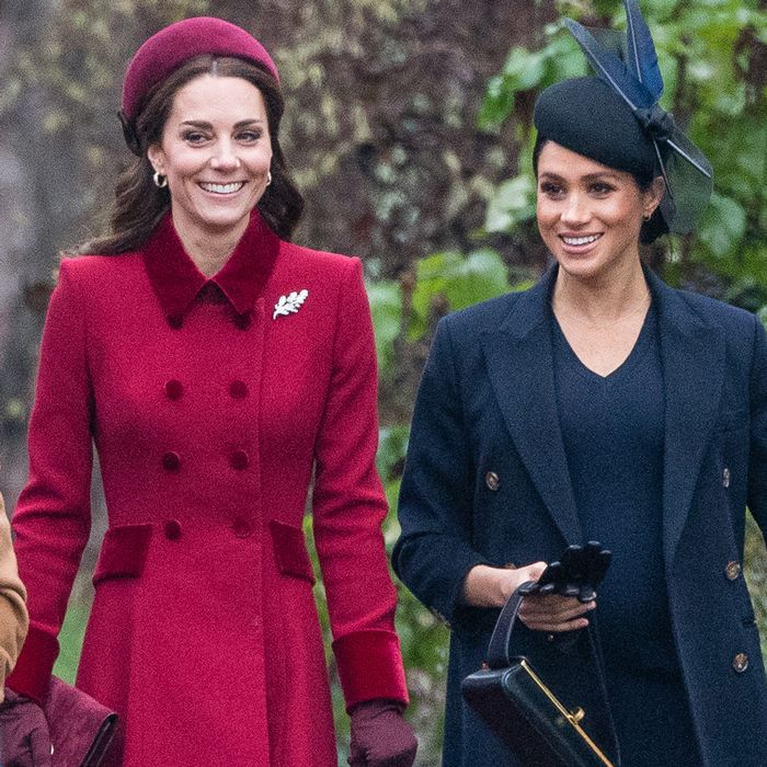Meghan, Kate, and Diana's 9 Best Holiday Looks Ever