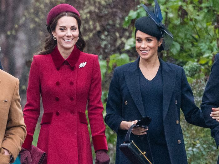 Kate Middleton and Meghan Markle's Best Christmas Outfits