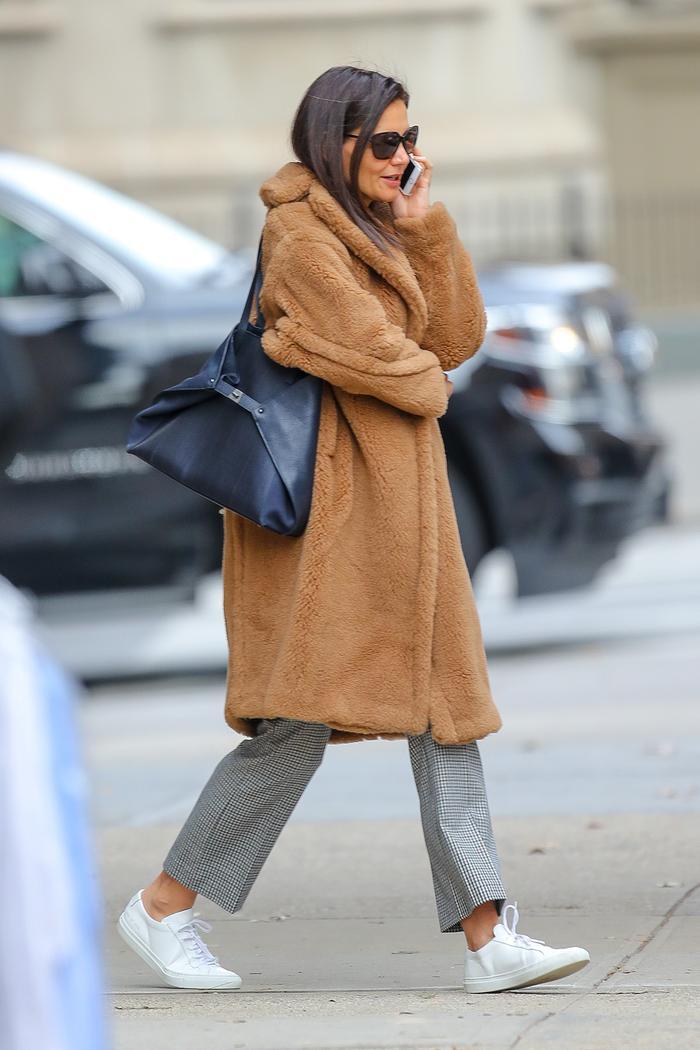 Katie Holmes coat