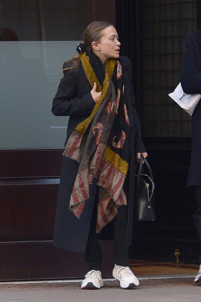 Mary-Kate Olsen sneakers