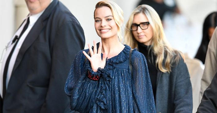 Margot Robbie Just Discovered an Entirely New Way to Style a Dress