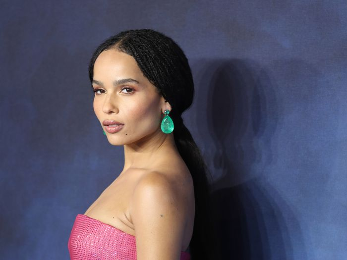 Zoë Kravitz Just Shared Photos of Her Paris Wedding (And Her Dress Is Stunning)