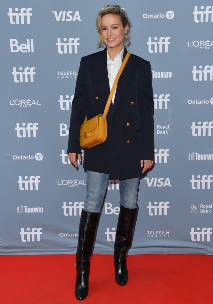 celebrity fashion inspiration 2020: brie larson