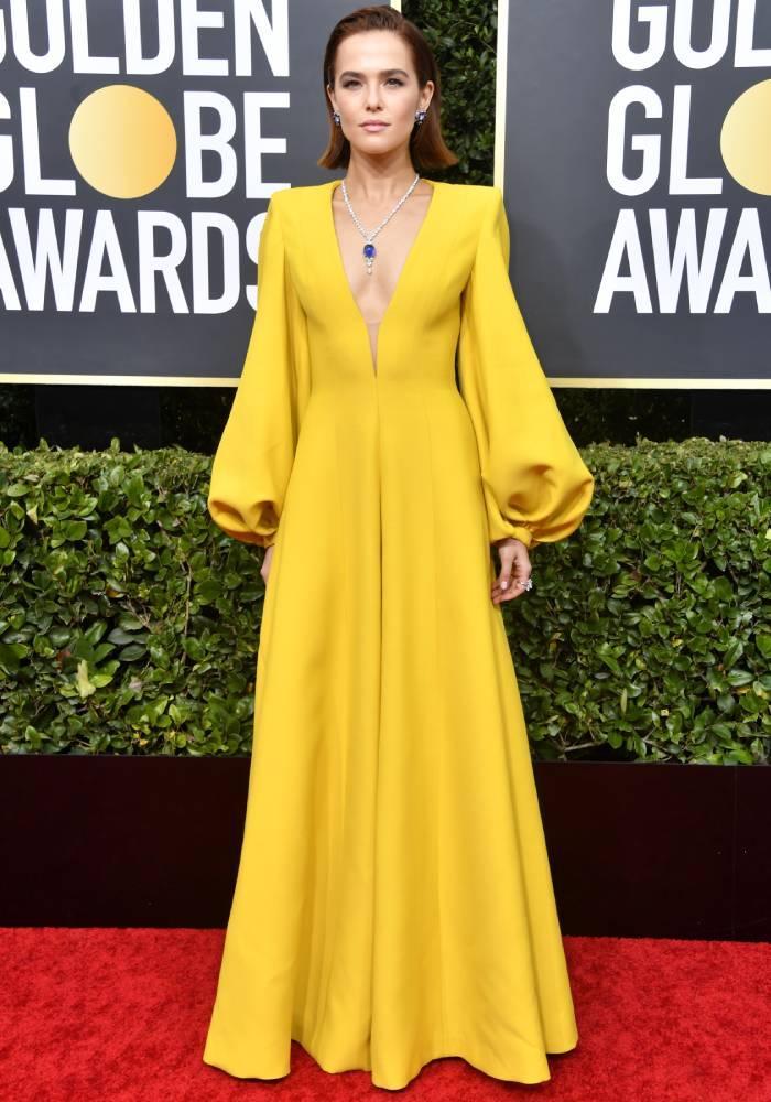 celebrity fashion inspiration 2020: zoey deutch