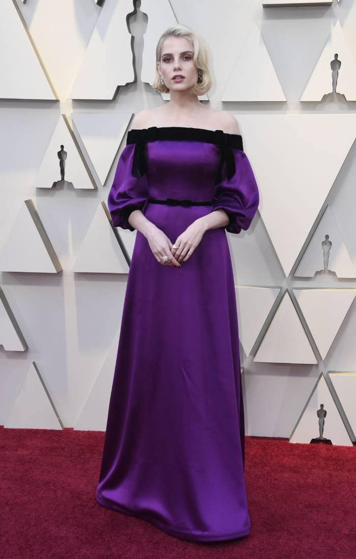 celebrity fashion inspiration 2020: lucy boynton