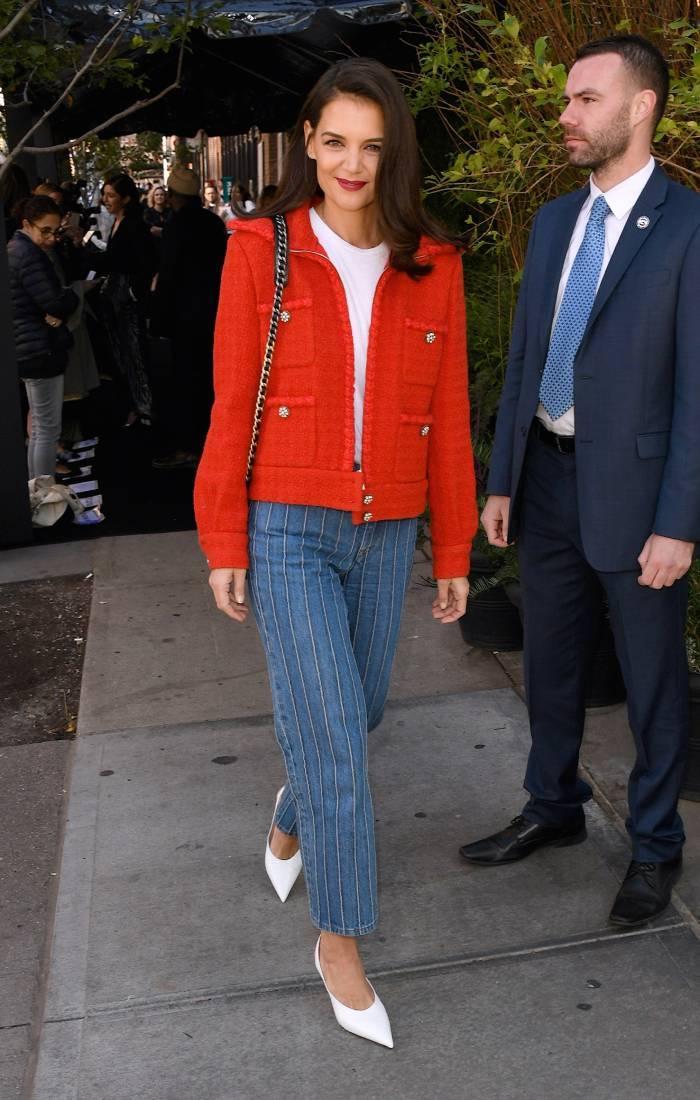 celebrity fashion inspiration 2020: katie holmes
