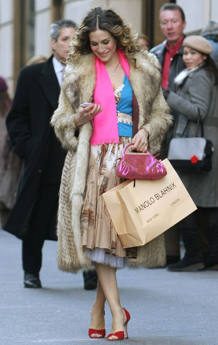 Carrie Bradshaw Sex and the City Outfits
