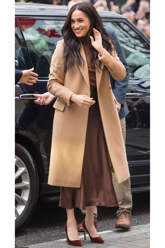 Meghan Markle Just Wore the Chicest Color Palette for Her First 2020 Outfit