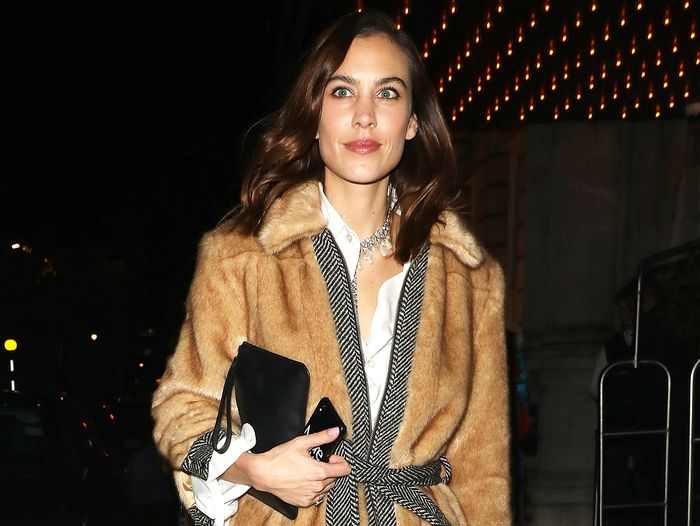 We Never Thought Alexa Chung Would Endorse This Controversial Jewelry Trend