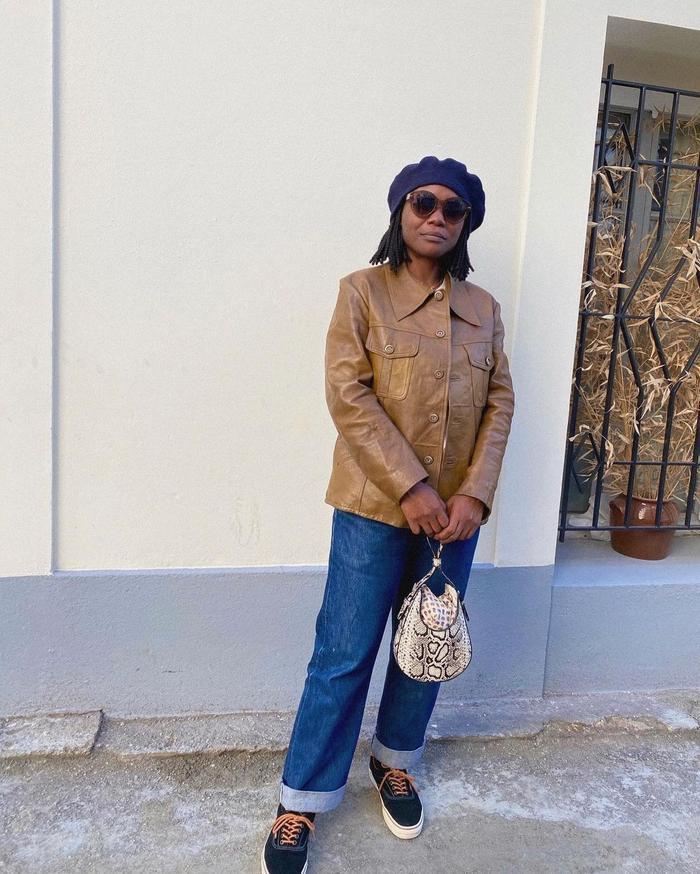 New Handbags Brands 2020: @frannyfyne carries an S.Joon bag