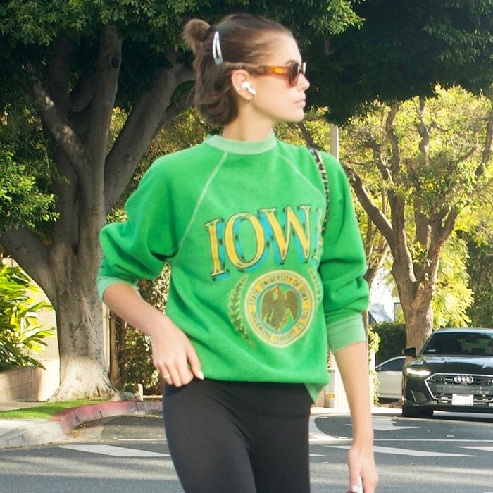 Thanks to Kaia Gerber, This Is How Everyone Will Wear Their Leggings in 2020