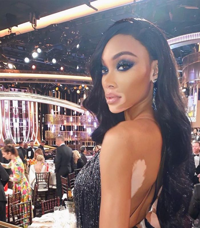 Best 9 Date Night Makeup Looks: Winnie Harlow