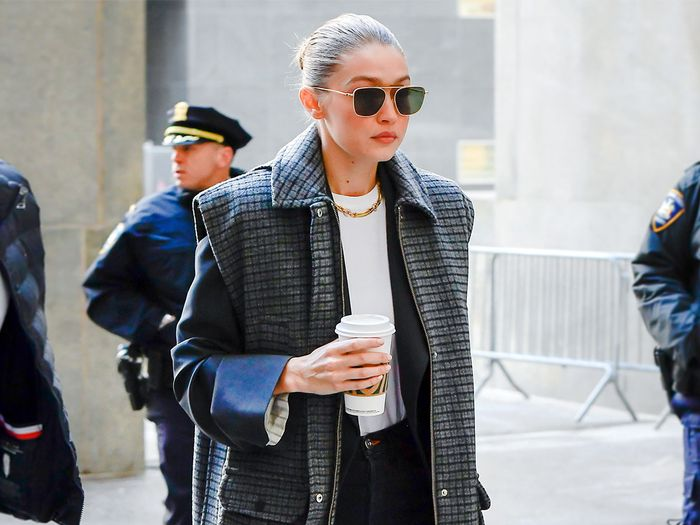 Gigi Hadid Made a White Tee, Jeans, and Boots Look Elegant for Jury Duty