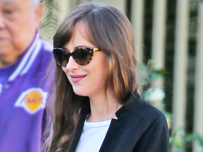 Dakota Johnson Wore Gucci's Next It Shoes With Skinny Jeans