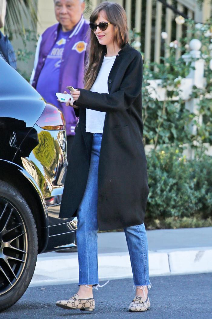 Dakota Johnson Is Wearing Gucci's Next It Shoes