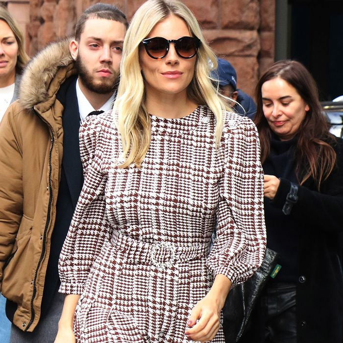 Sienna Miller's Latest Off-Duty Outfit Is an Instant Classic