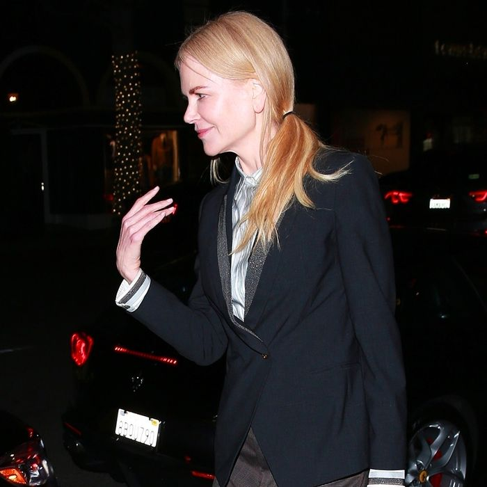 Nicole Kidman Wore the Only Flat-Shoe Trend That Matters for Spring
