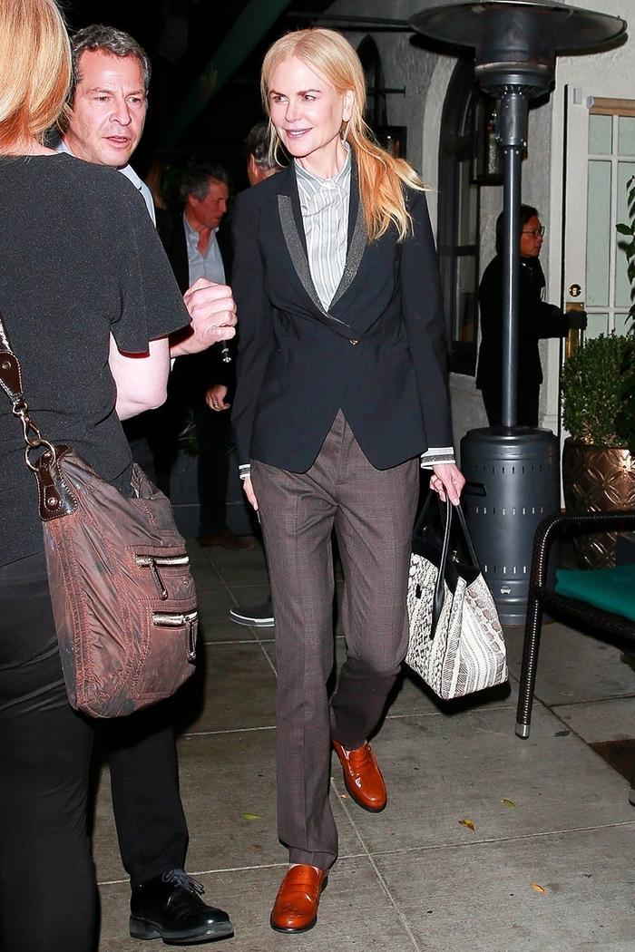 Nicole Kidman loafers
