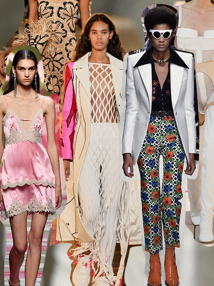 Модные тренды 2020, мода весна-лето 2020: объемный рукав, вышивка ... | 933x700