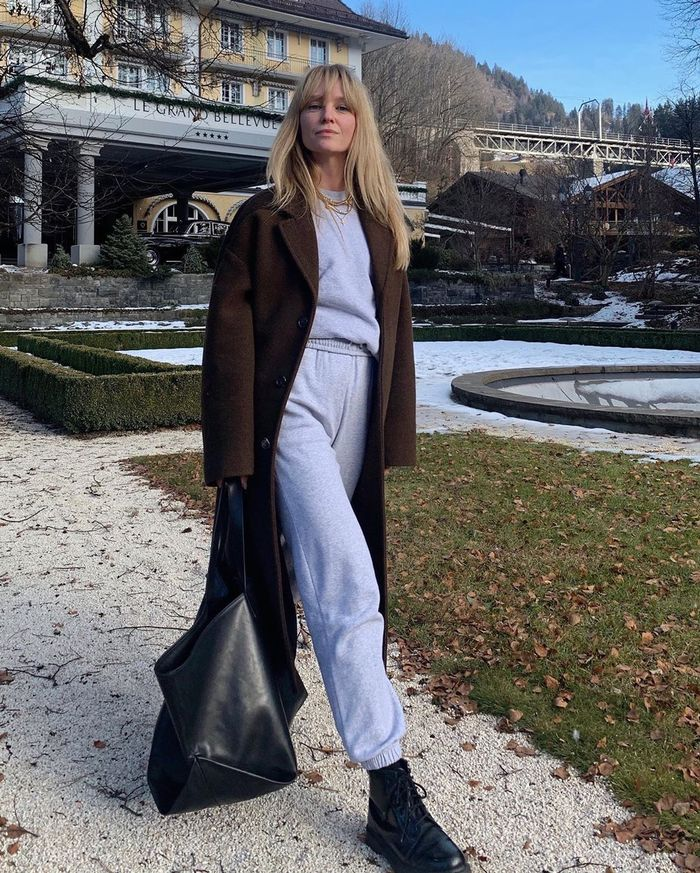 How to Wear Jogging Bottoms: @_jeanettemadsen_