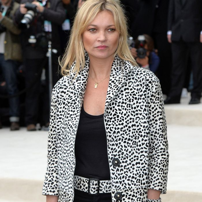 Kate Moss Just Wore the Most Kate Moss Outfit to Her 46th Birthday