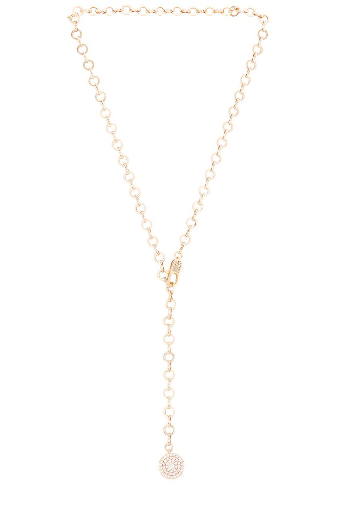 Ettika Chain Lariat Necklace
