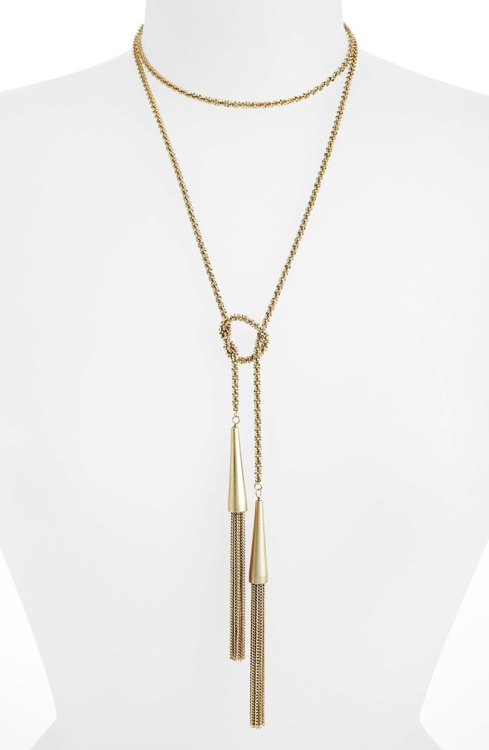 Kendra Scott Phara Tassel Lariat Necklace