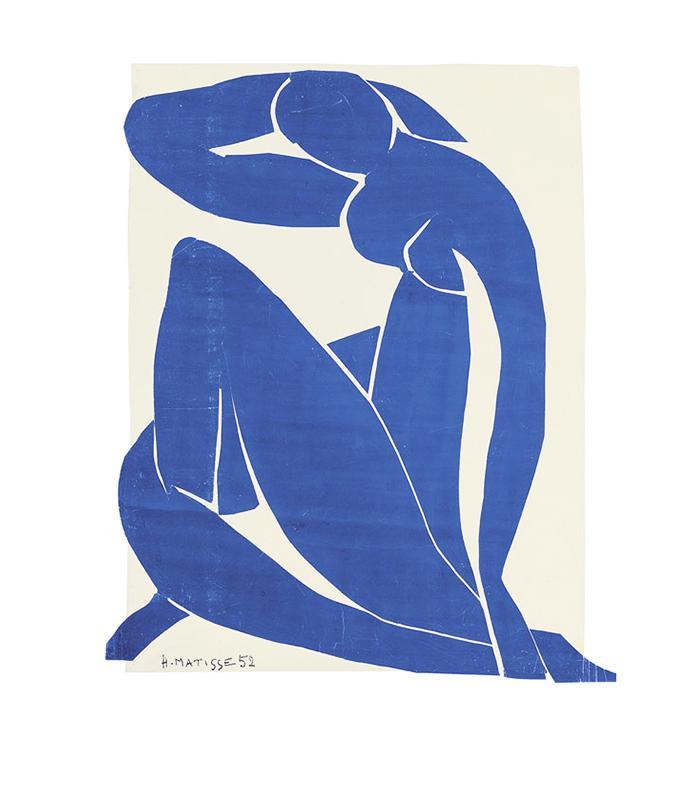 Tate Matisse, Blue Nude II