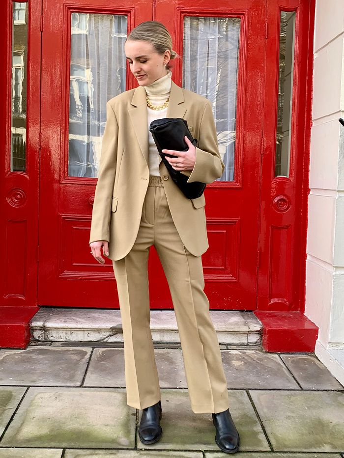 Best Minimalist Outfits: Arket Suit