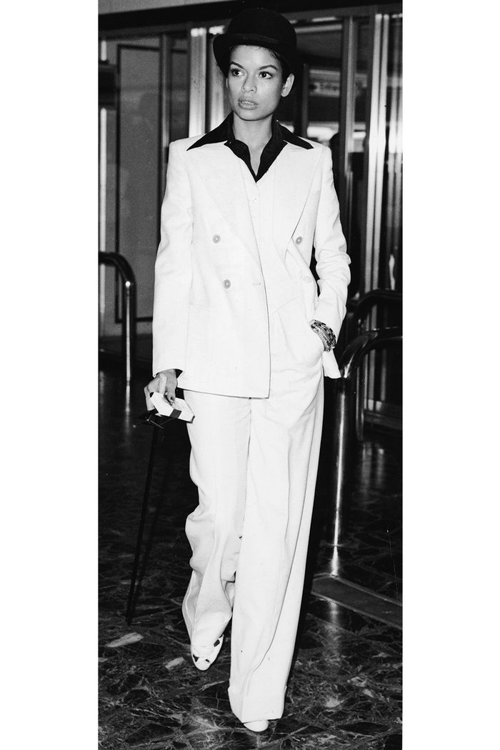 Bianca Jagger White Suit