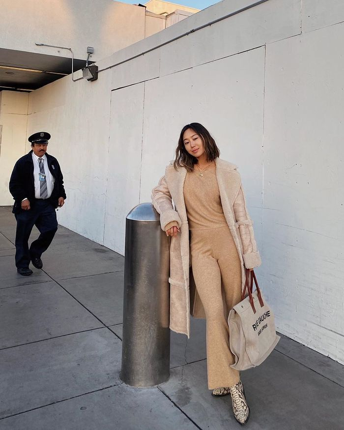 Polished Airport Outfit Ideas