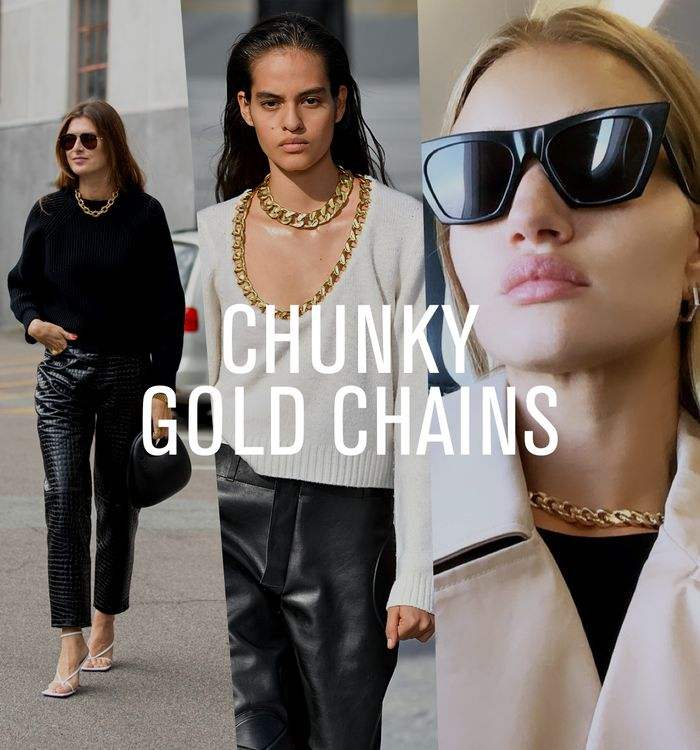 Affordable spring 2020 trends: chunky gold chains